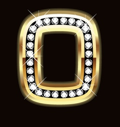 o bling vector image vector image