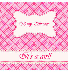 Baby-shower-abstract-background-girl-3 vector