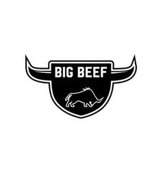 beef-logo vector image