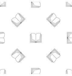 Schoolbook pattern seamless vector