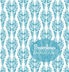 Seamless background in the style of Damascus vector image