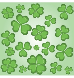 Shamrock wallpaper vector