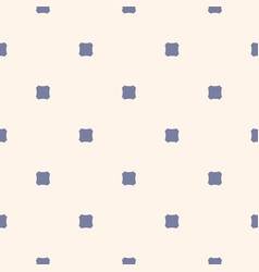 Vintage seamless pattern with octagonal shapes vector