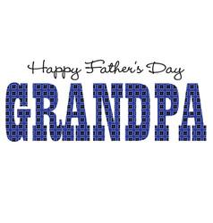 Blue bandana grandpa happy fathers day vector