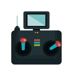 Drone control remote icon vector