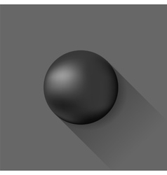Grey Ball vector image