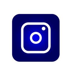 icon symbol camera vector image
