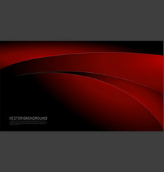 Modern black red gradient background black and vector