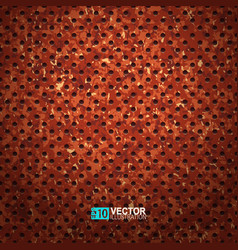 rusty metal texture vector image