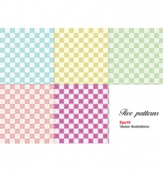 wallpaper patterns vector image