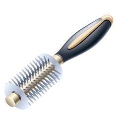 hairbrush vector image vector image
