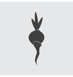 Beet icon vector image vector image
