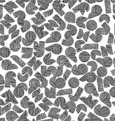 seamless pattern with hand drawn lines te vector image vector image