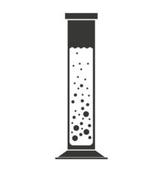 tube test isolated icon design vector image vector image