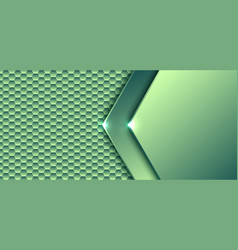 abstract technology digital concept green vector image