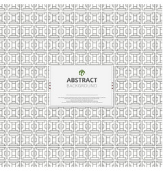 abstraction of modern geometric pattern background vector image