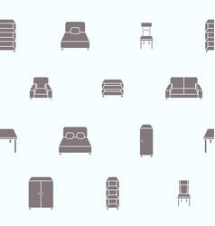 furniture background 08 vector image