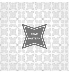geometric abstract star pattern background vector image