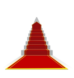 long success ladder vector image vector image