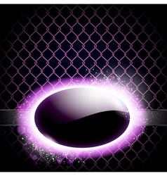 Techno background with light frame vector image