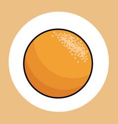 orange healthy fresh image vector image