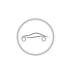 Car logo Automobile sign vector image