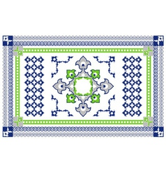 Arabic Style Carpet Design vector image