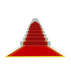 success ladder vector image vector image