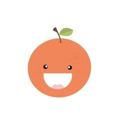 Abstract delicious Orange vector image