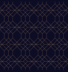 creative geometric seamless ornamental background vector image