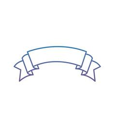 Degraded line nice ribbon art decoration design vector