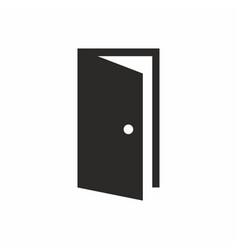 door logo simple design icon vector image