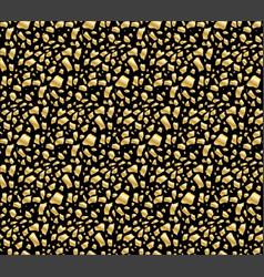 Golden egg shards seamless pattern vector