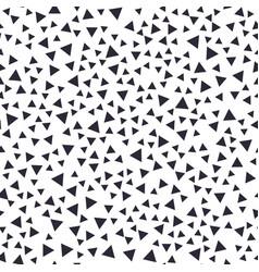 Seamless pattern tiny random geometric elements vector