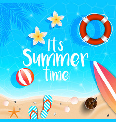 summer background 2018 7 vector image