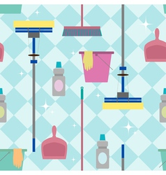 Cleaning pattern vector image
