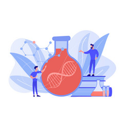 gene therapy concept vector image