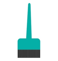 hair dye brush icon vector image