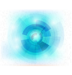 mechanical abstract background vector image