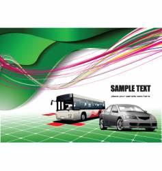 bus vector image vector image