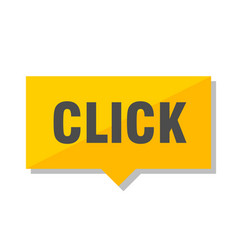 click price tag vector image