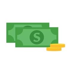 Dollar money symbol icon vector
