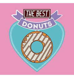 Donuts Shop design vector image