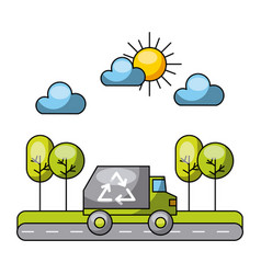 Eco friendly icons image vector