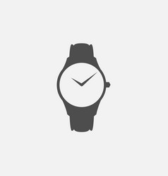 symbol of clock web line icon vector image