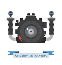 Underwater Camera Icon vector image