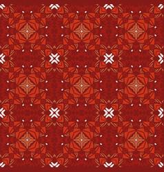 seamless geometric mosaic surface vector image