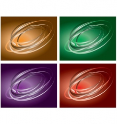 colored backgrounds vector image vector image