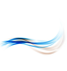 Abstract background transparent waved vector
