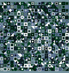 Mosaic pattern background - colorful abstract vector